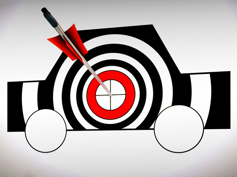 Car Target Shows Excellence And Accuracy