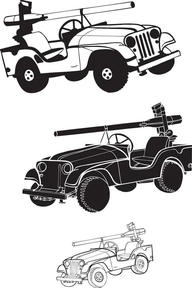 Car Vector Element