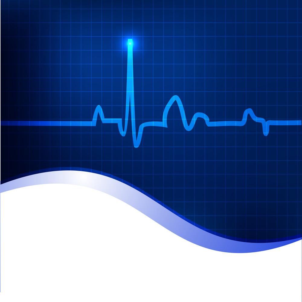 Cardiogram Background.