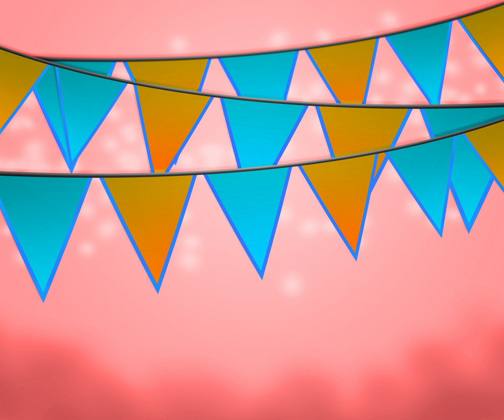 Carnival Flags Background