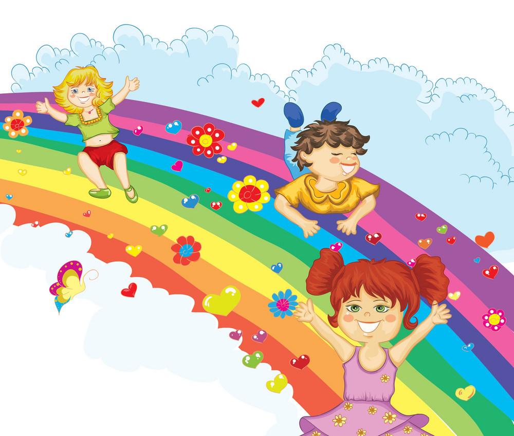 Cartoon Background Vector Background