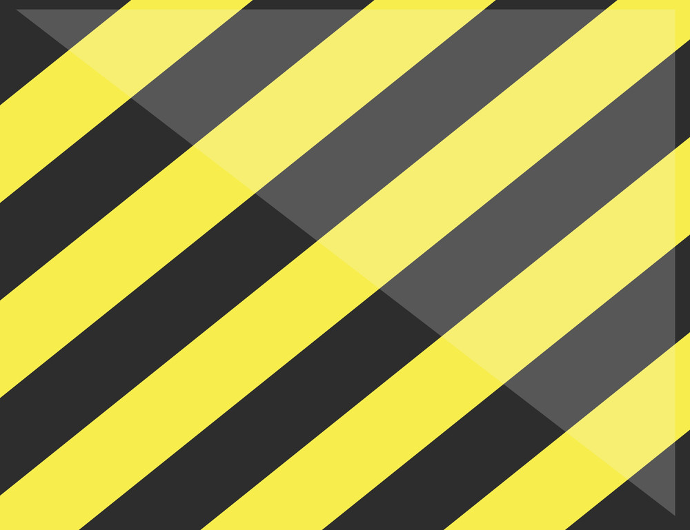 Cartoon Background - Warning Lines