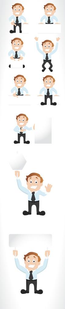 Cartoon Businessmen Vectors