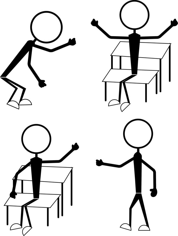 Cartoon Characters Poses