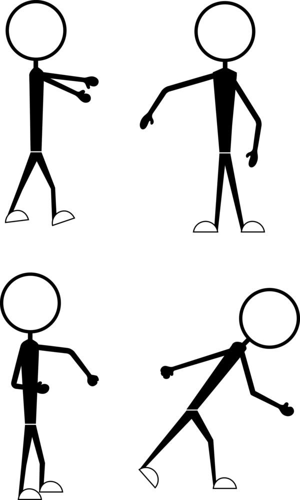 Cartoon Characters Various Styles