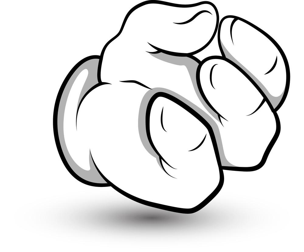 Cartoon Hand -  Vector Illustration
