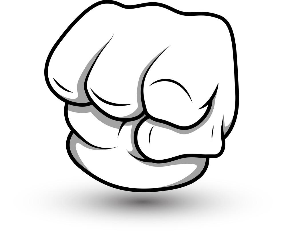 Cartoon Punch- Vector Illustration