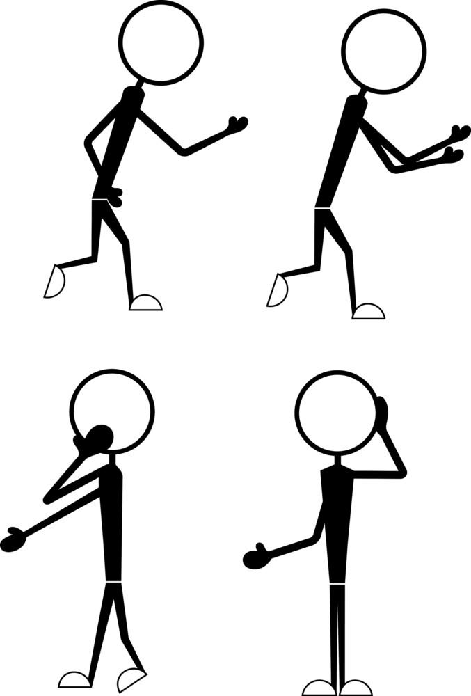 Cartoon Various Poses