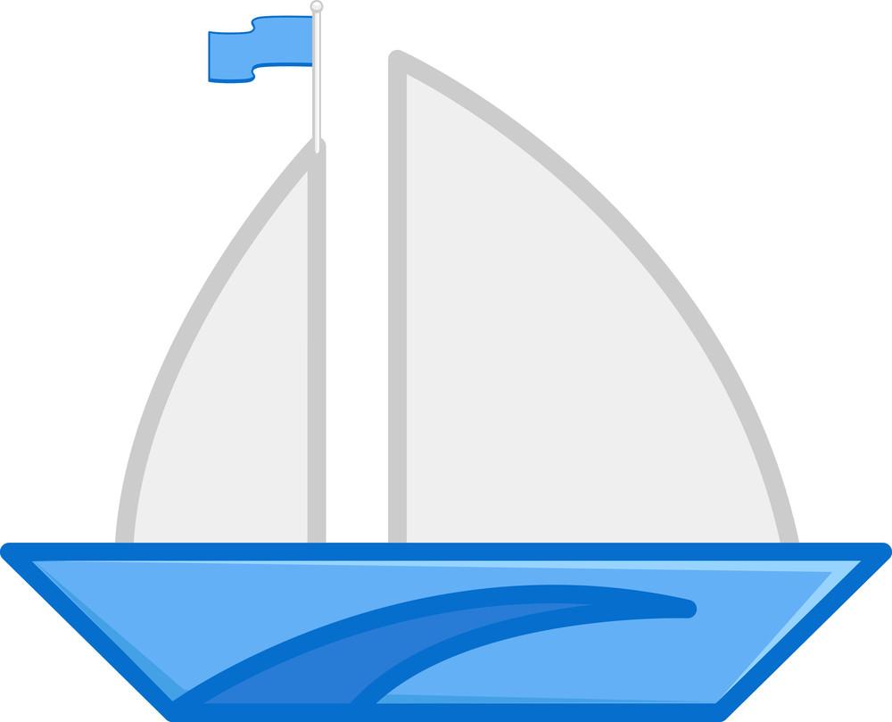Cartoon Vector - Ship
