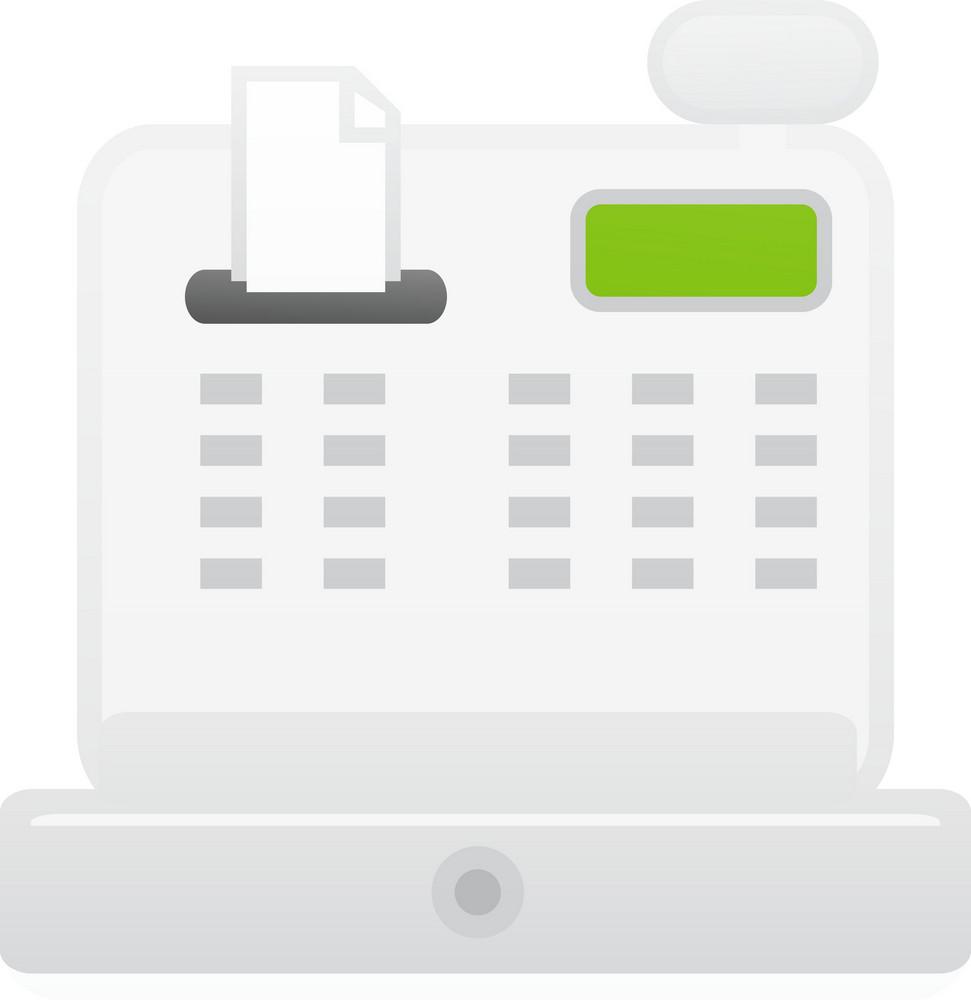 Cash Register Lite Communication Icon