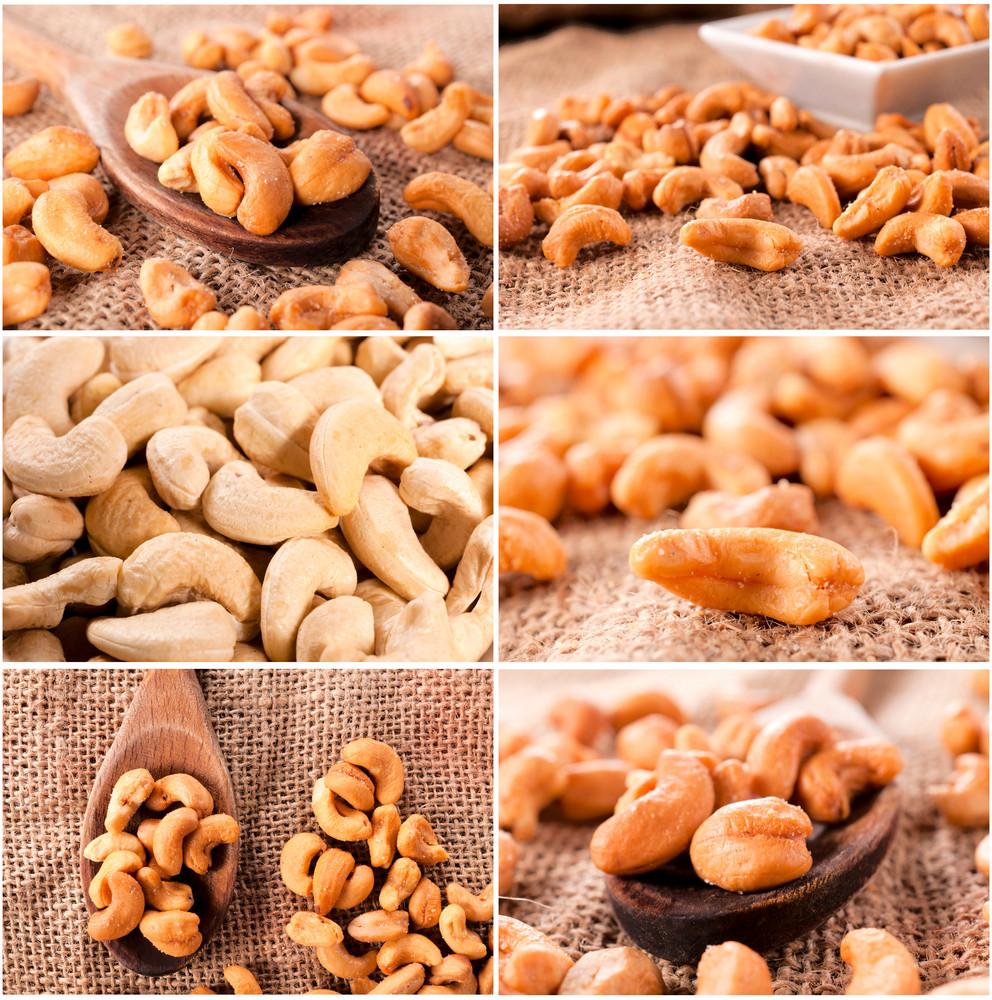 Cashew Nut Collage