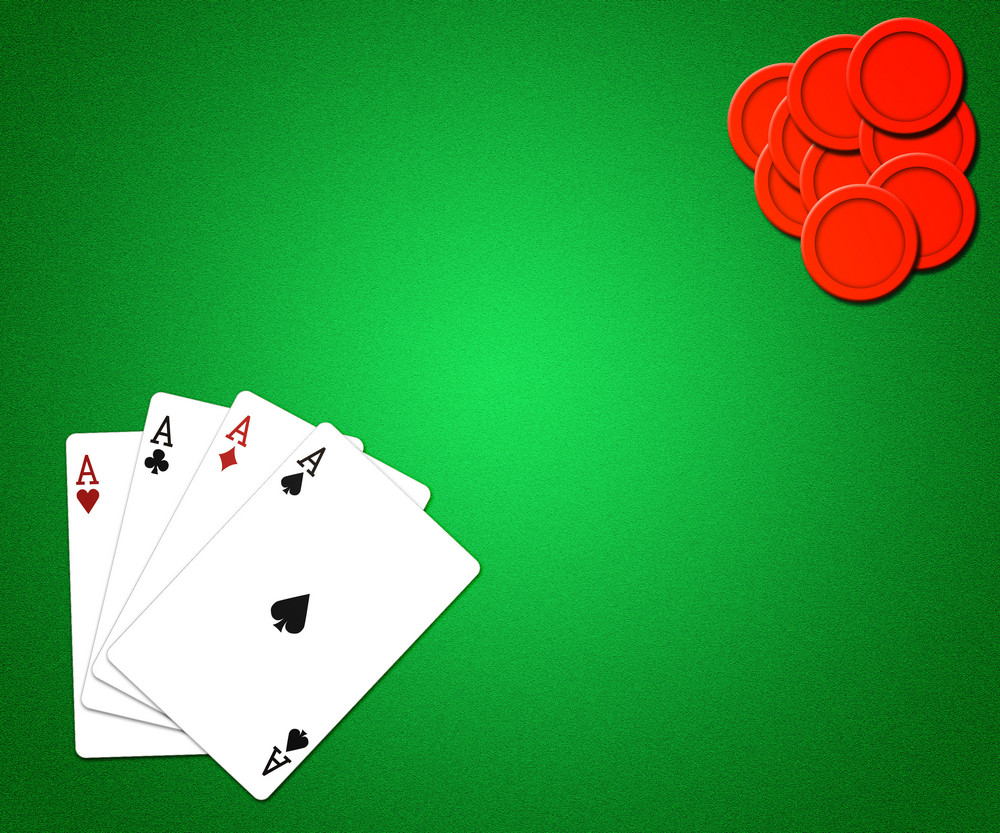 Casino Background Green Texture