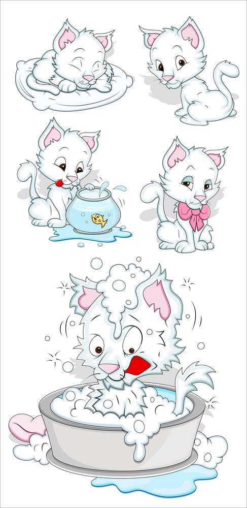 Cats Vector Illustration