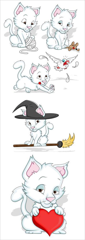 Cats Vectors