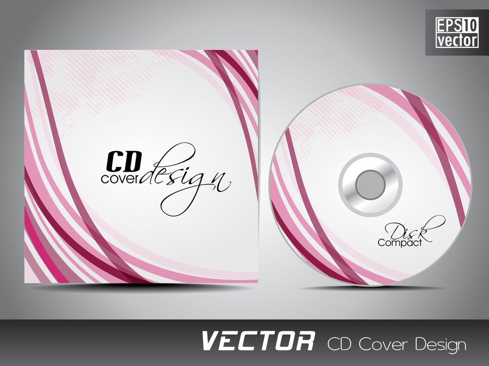 cd cover presentation design template royalty-free stock image, Presentation templates