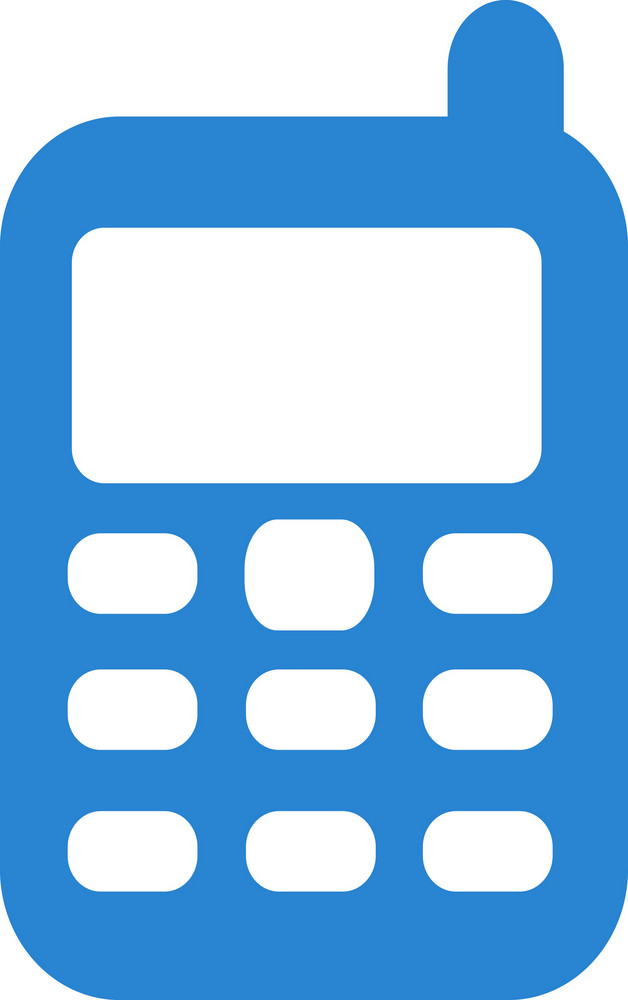 Cell Phone Simplicity Icon
