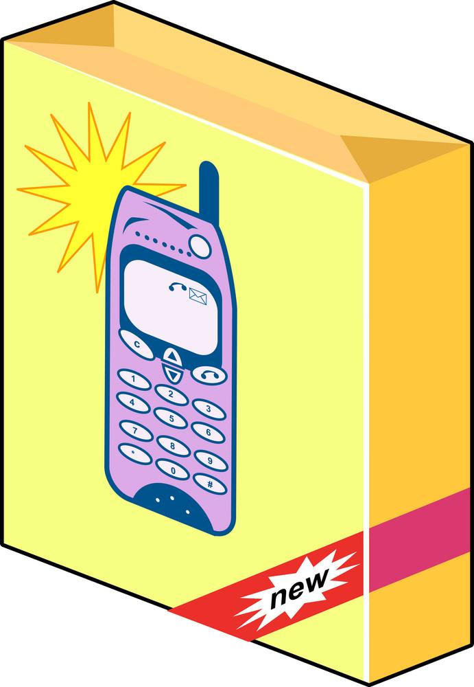 Cellphone Box Retro Style