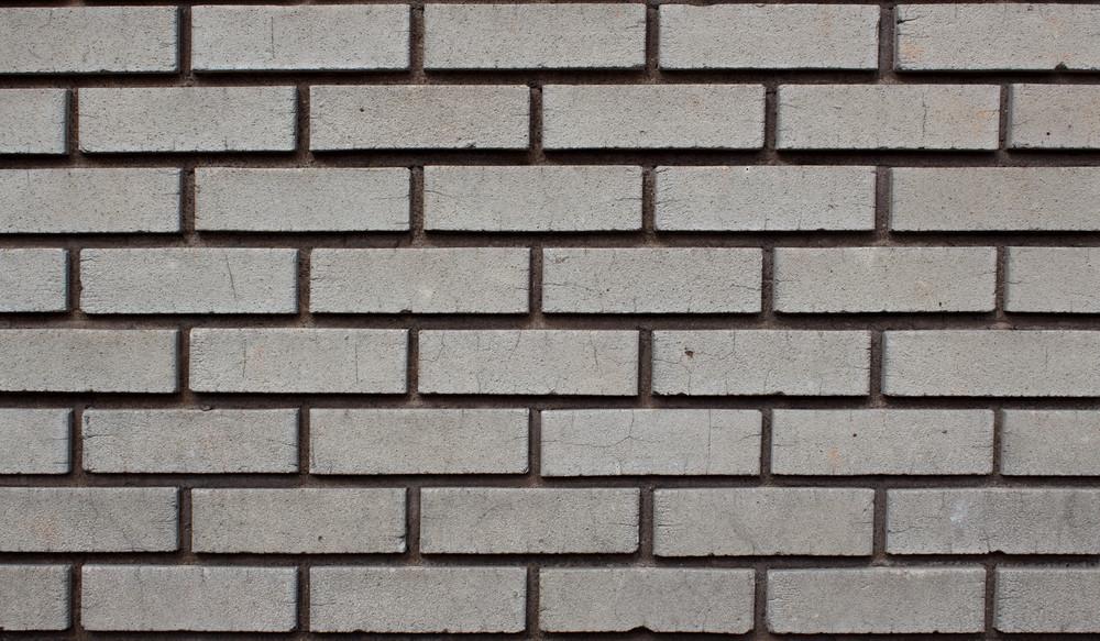 Cemented Concrete Bricks Wall