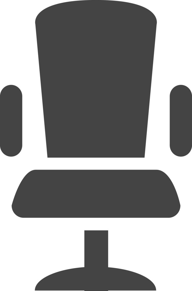 Chair 1 Glyph Icon