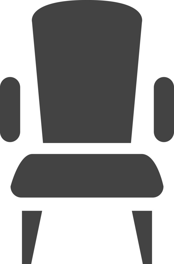 Chair 2 Glyph Icon