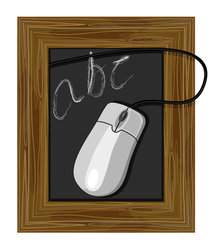 Chalkboard Abc Mouse