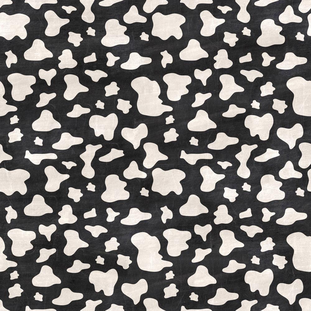 Black And White Animal Print Chalkboard Safari Pattern