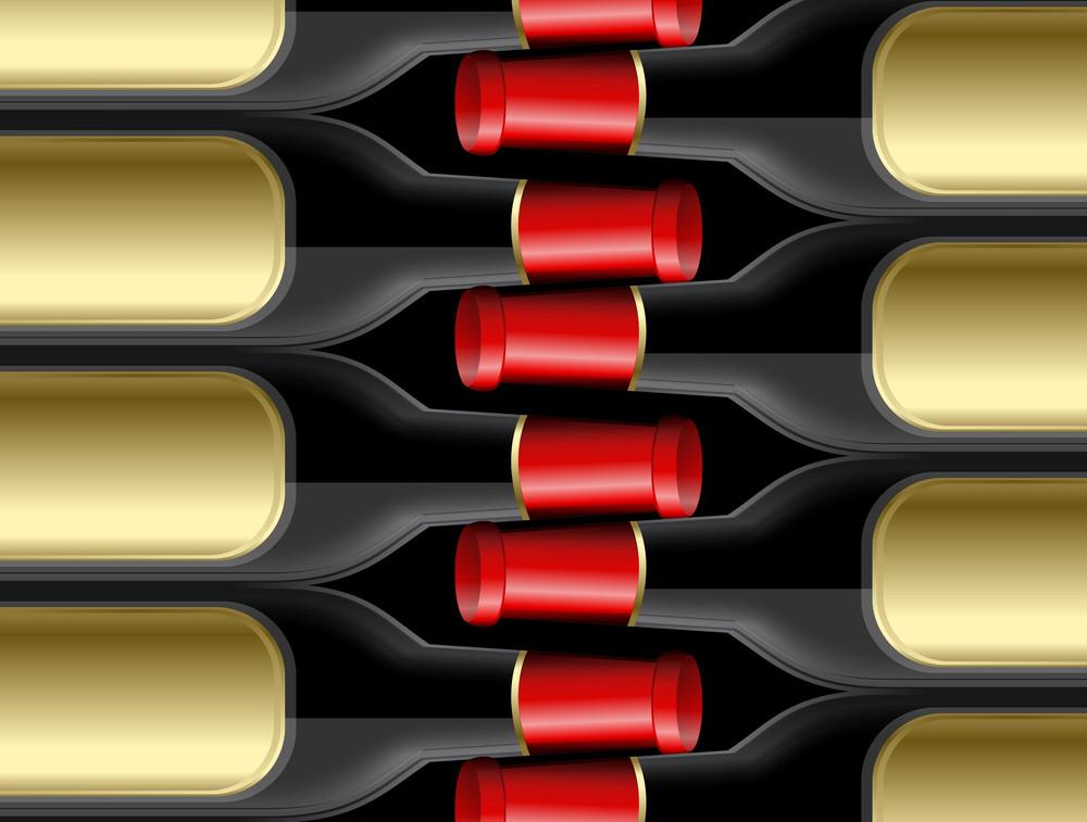 Champaign Bottles Pattern