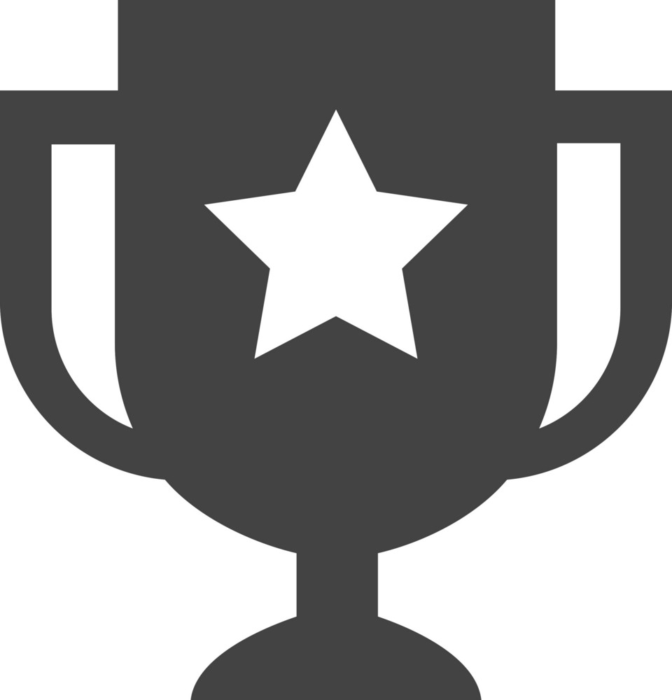 Champion Cup Glyph Icon