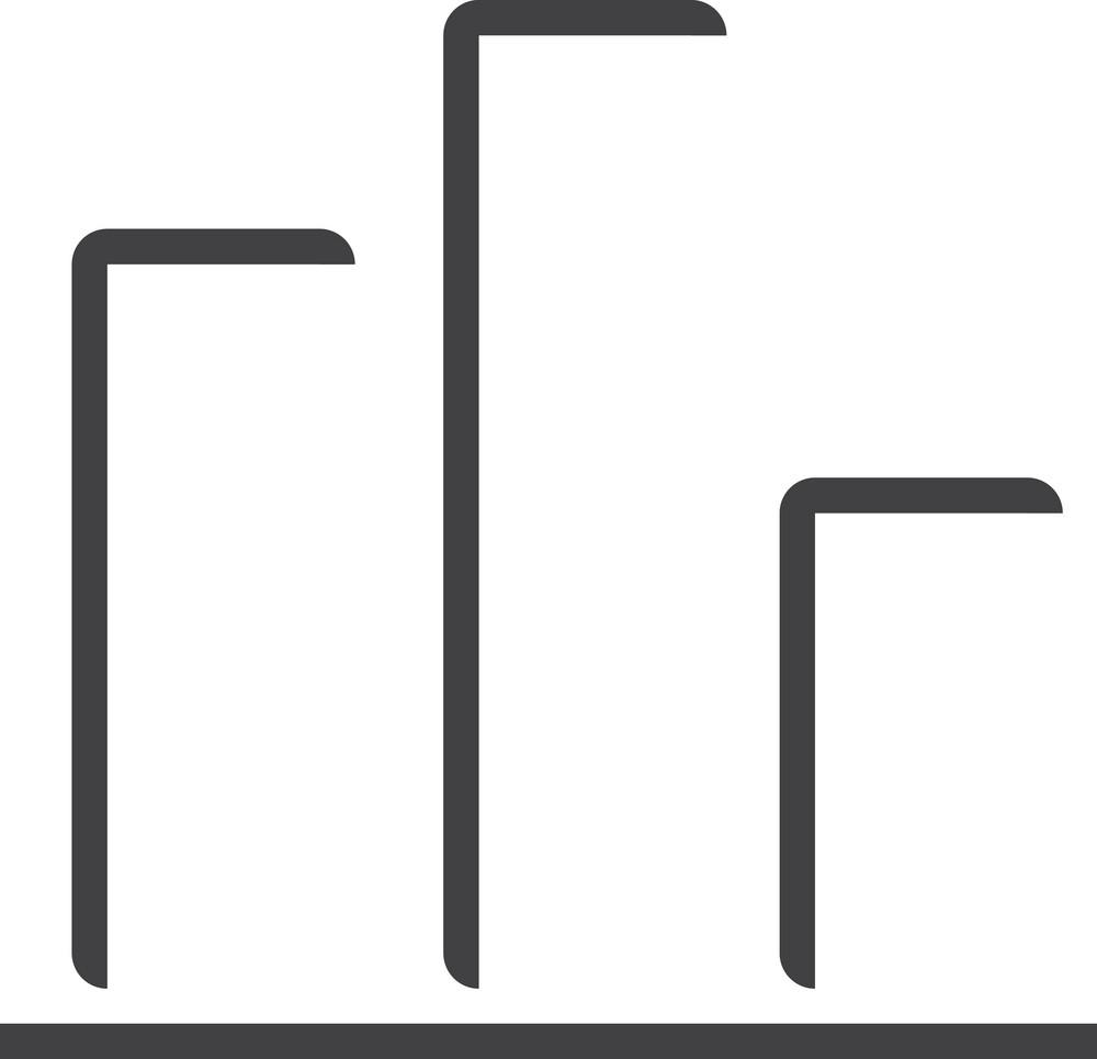 Chart 1 Minimal Icon