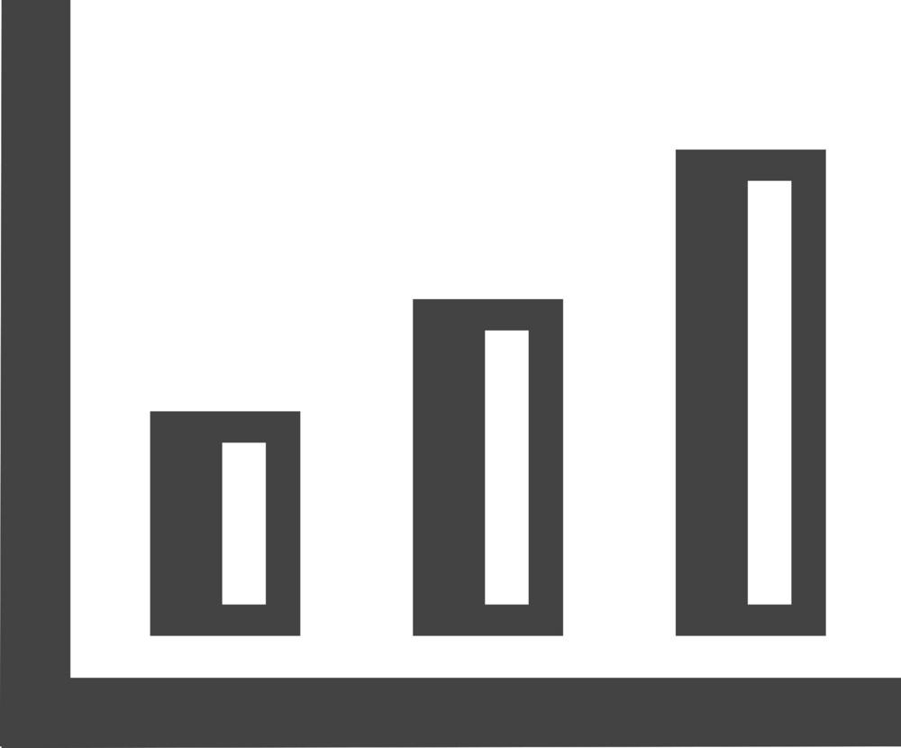 Chart 3 Glyph Icon
