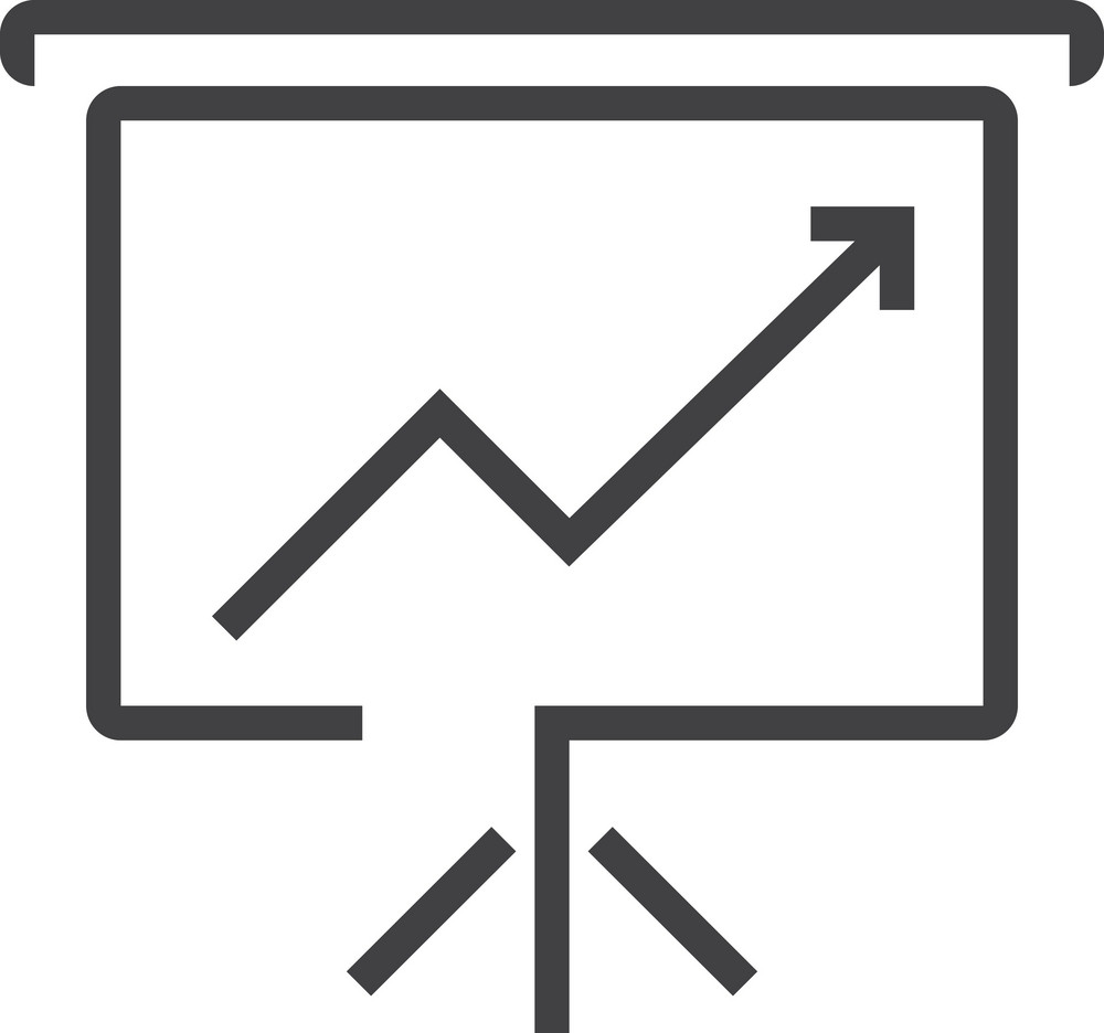 Chart 7 Minimal Icon