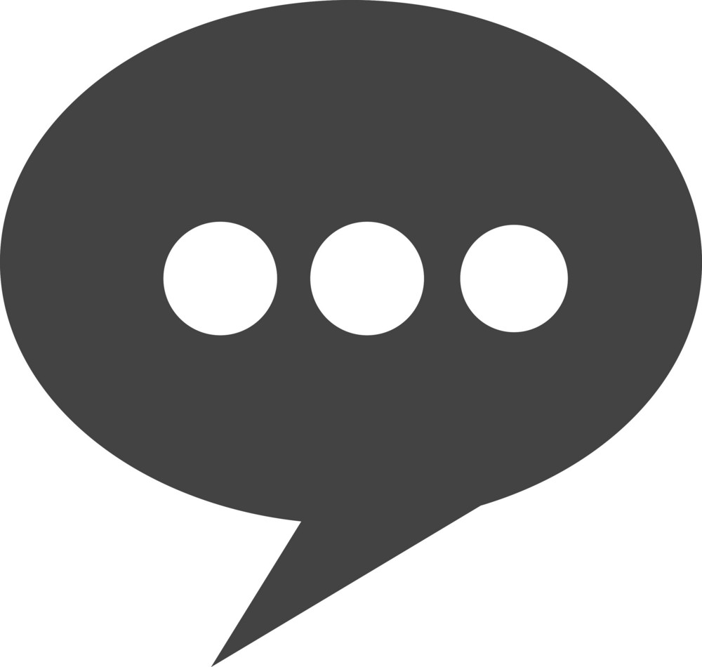 Chat 2 Glyph Icon