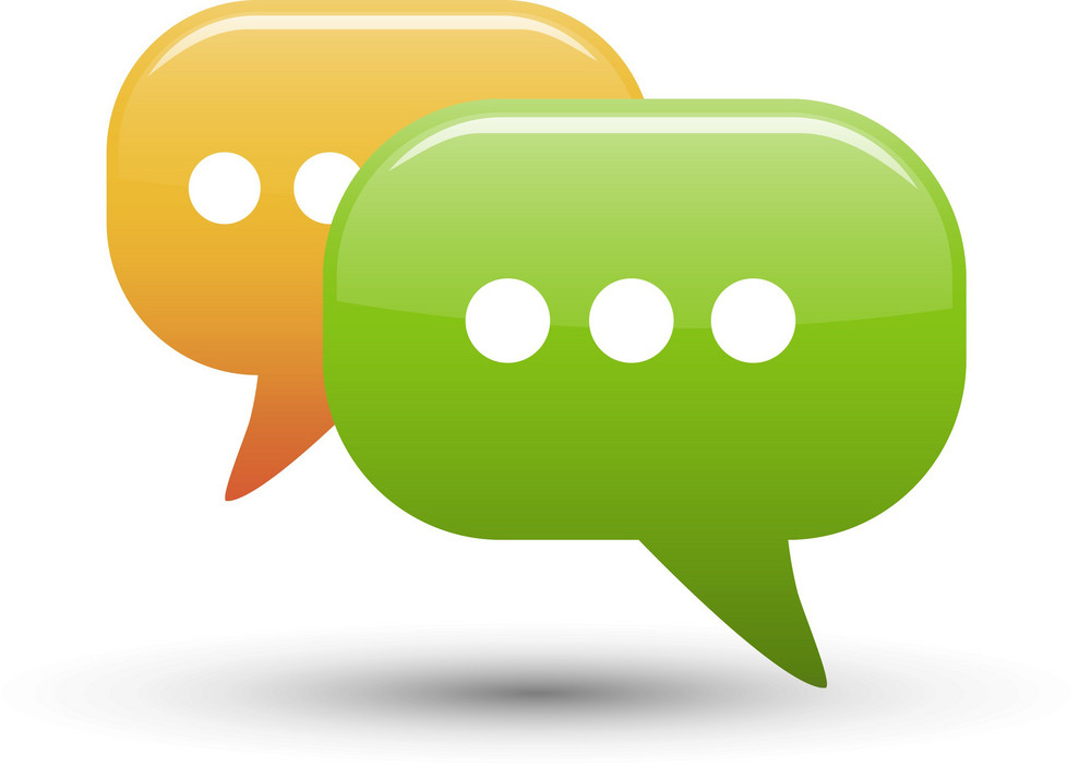 Chat Bubbles 3 Lite Communication Icon