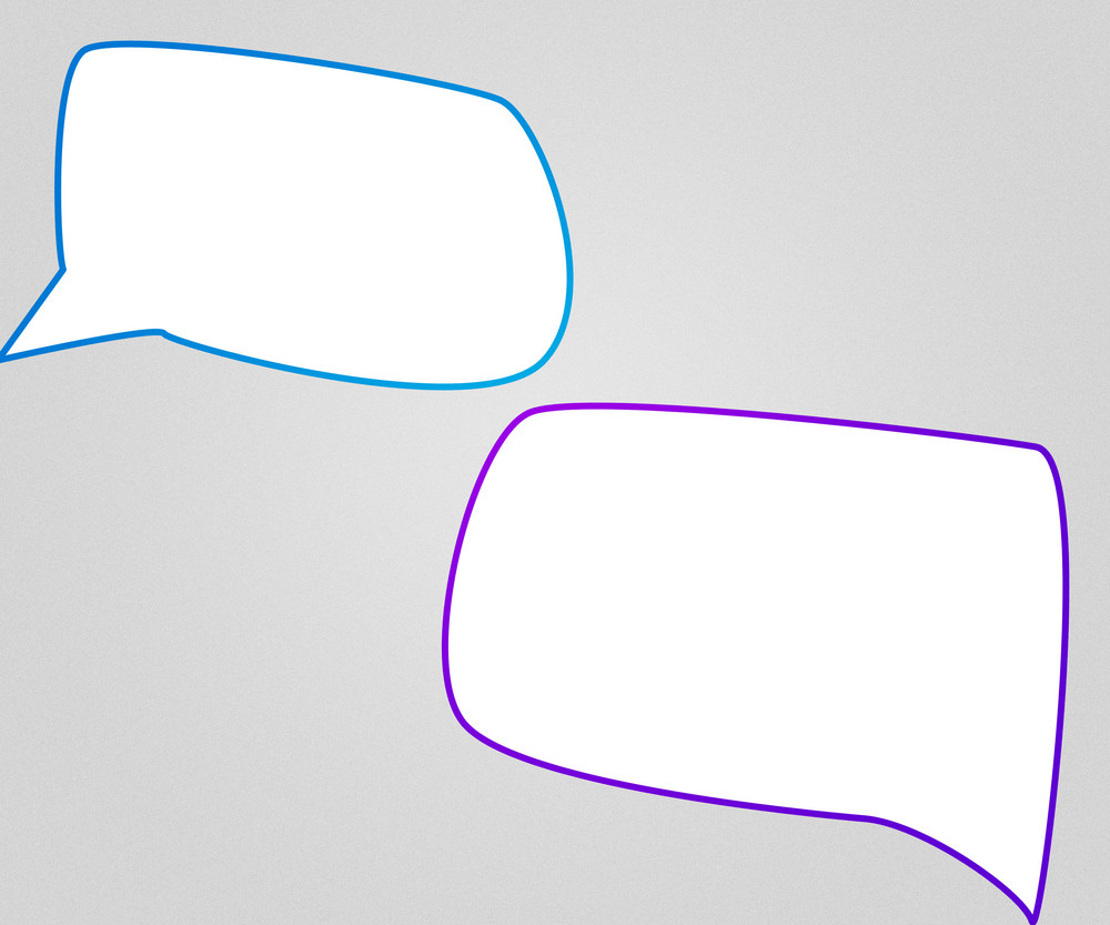 Chat Bubbles Background