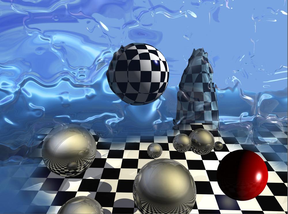 Checkered Composition