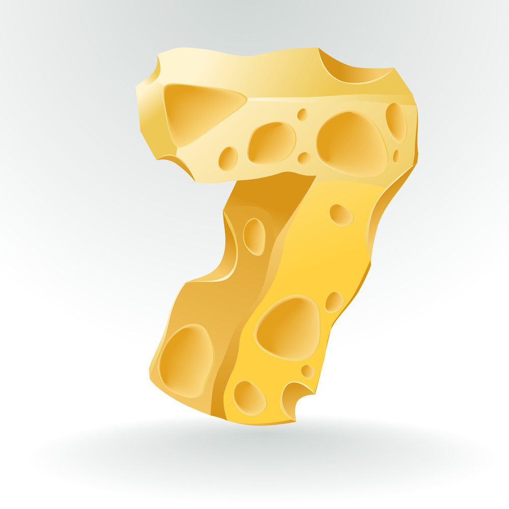 Cheese Vector Abc. Figure 7.