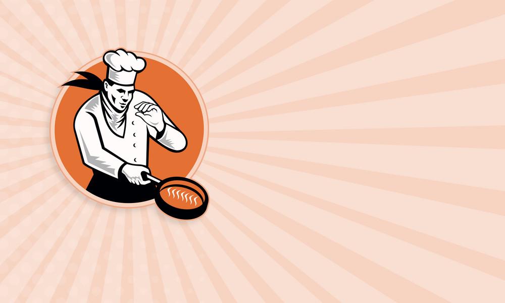 Chef Cook Cooking Pan Circle
