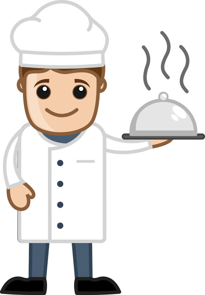 Chef Mascot - Cartoon Business Vector Character