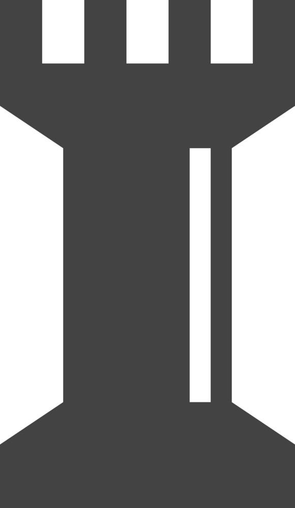 Chess 1 Glyph Icon