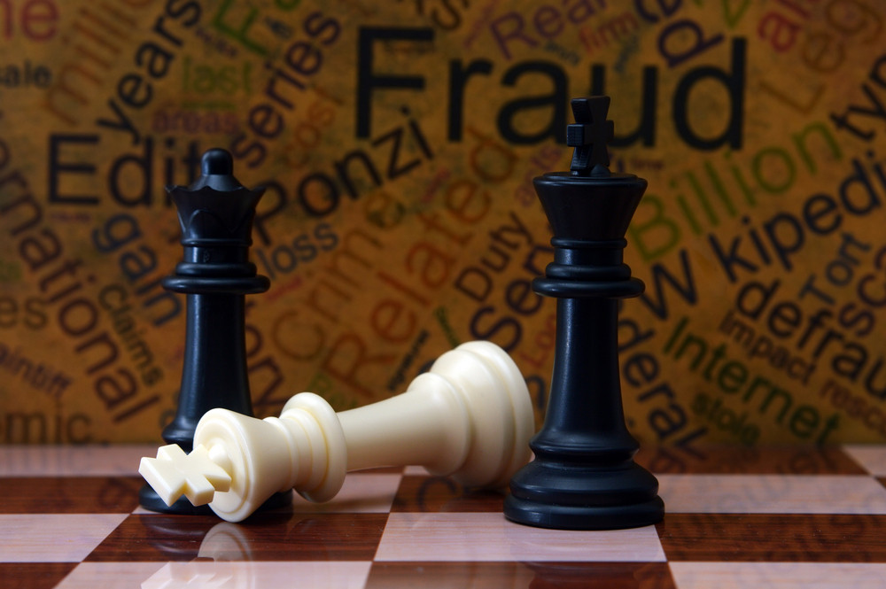 Chess And Fraud Concept