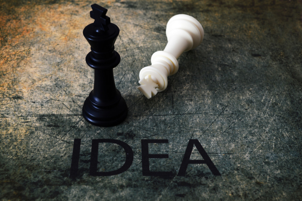Chess And Idea Concept