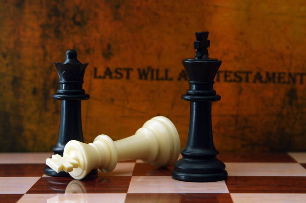 Chess And Last Will Concept