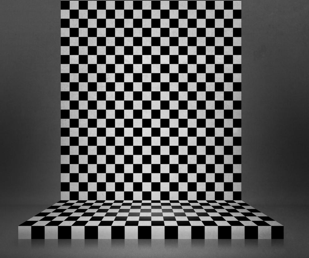 Chessboard Interior Stage Background