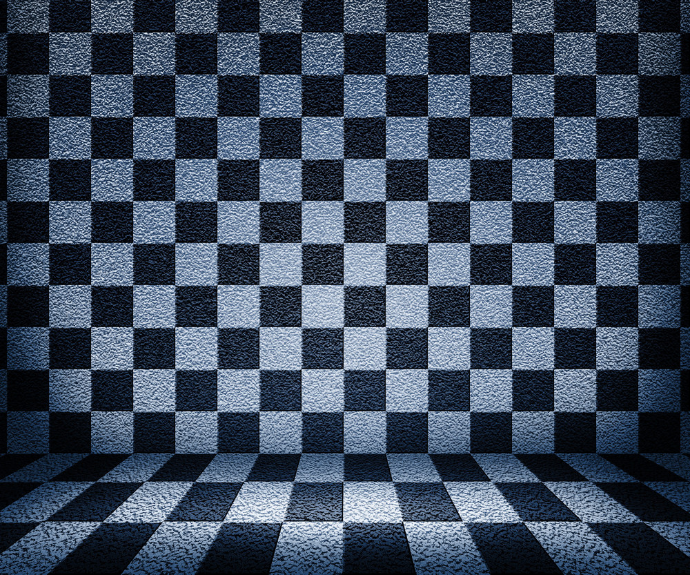 Chessboard Room Background