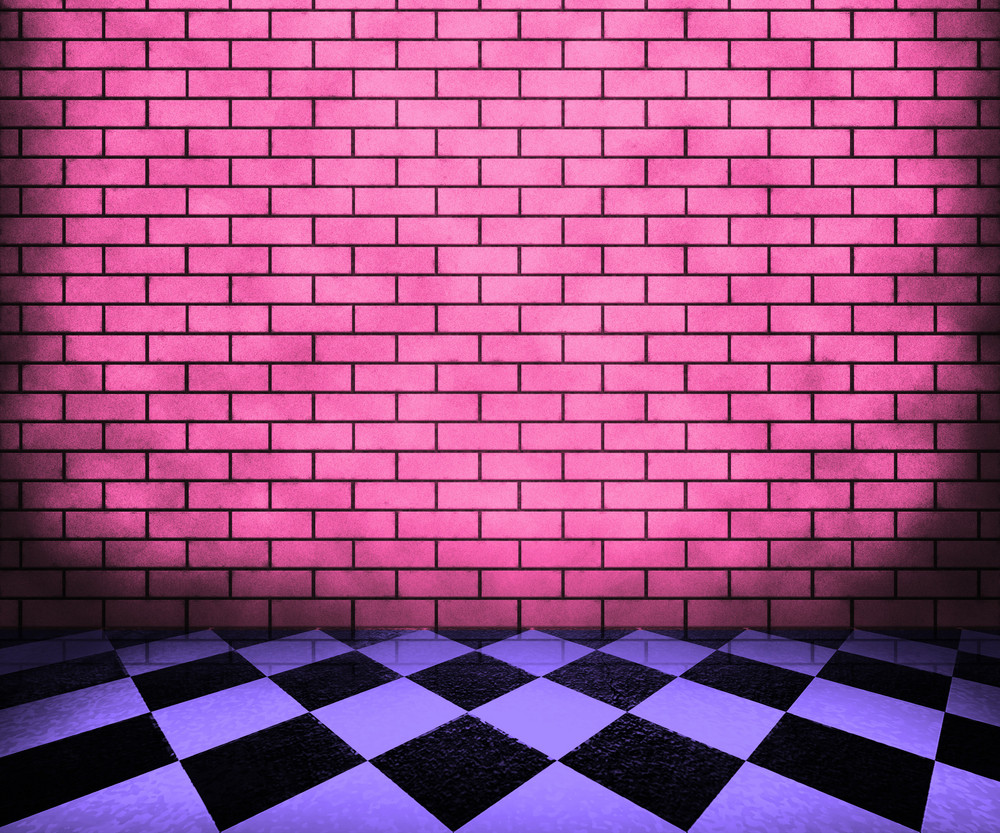 Chessboard Violet Interior Background