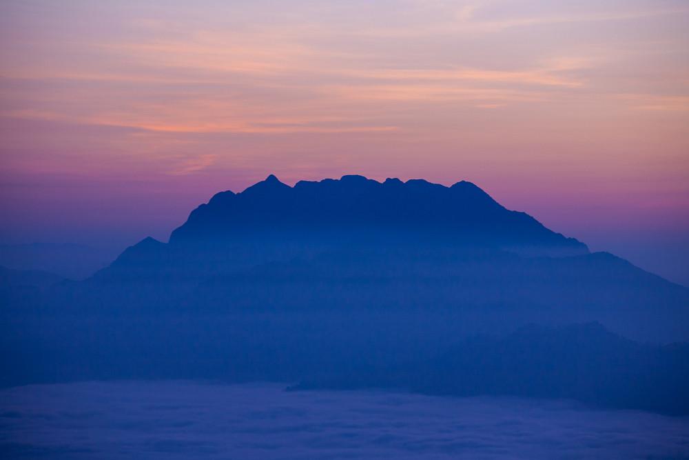 Chiang Dao mountain, Chiang Mai, Thailand