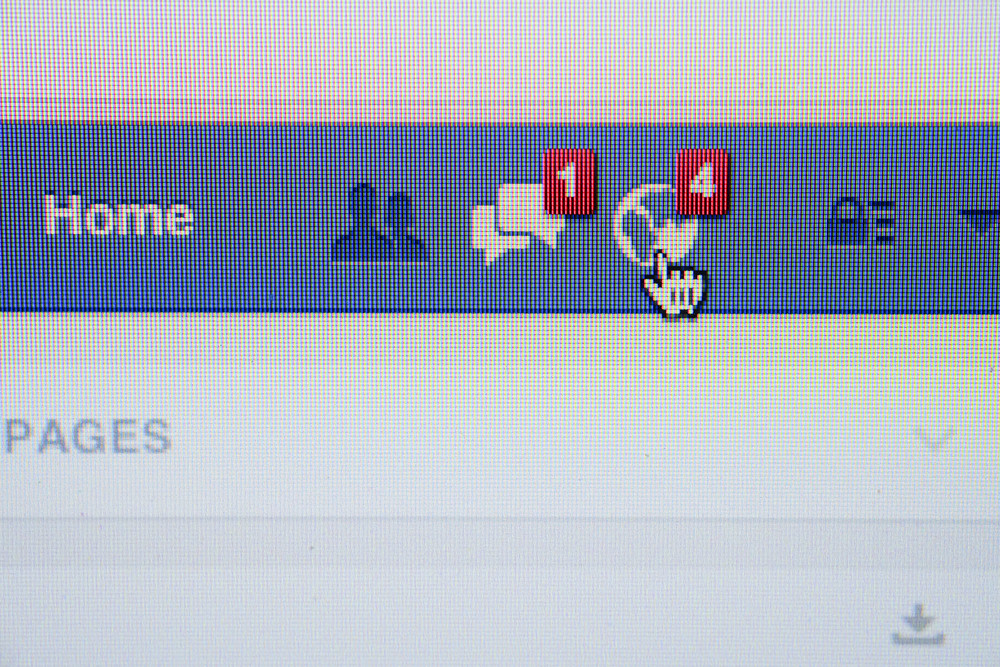CHIANG MAI, THAILAND - OCTOBER 01, 2014: Facebook page friend message feed on browser.
