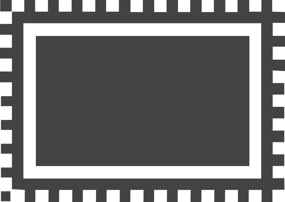 Chip 2 Glyph Icon