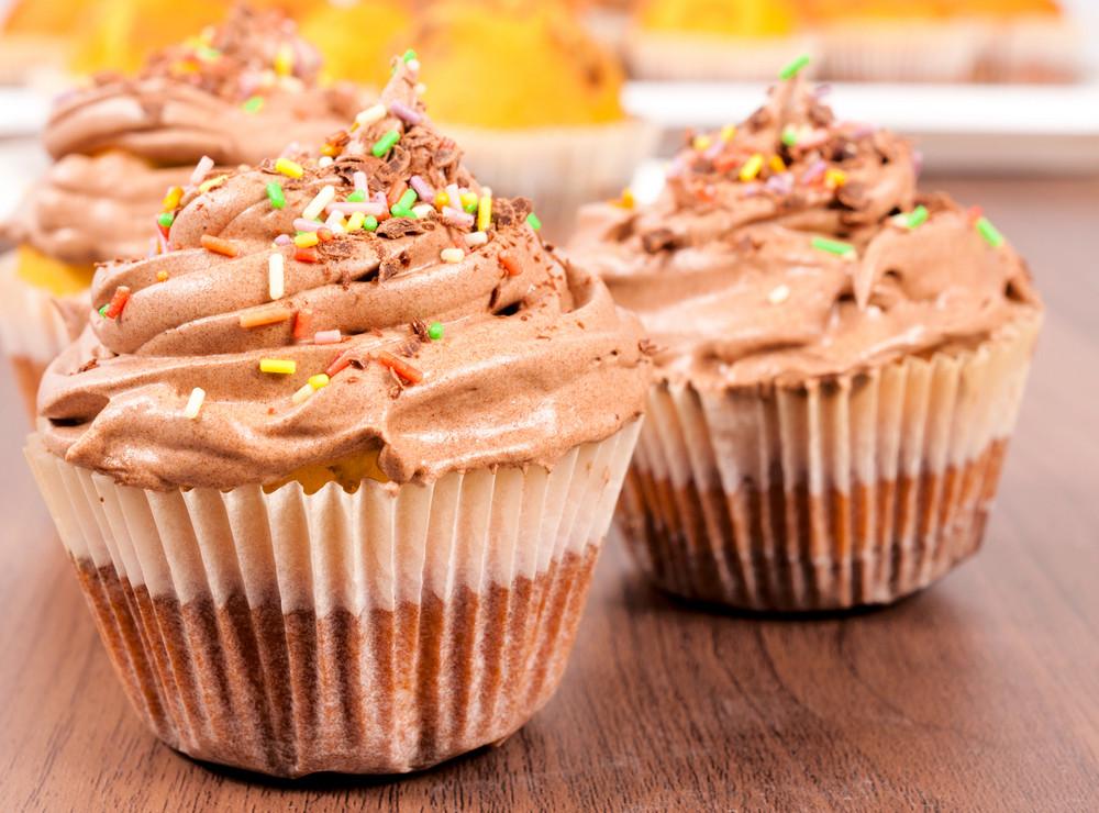Schokolade Cupcake