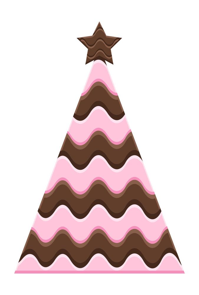 Chocolaty Christmas Tree Design